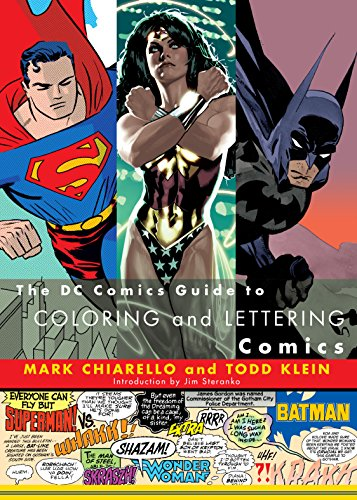 9780823010301: DC Comics Guide to Coloring and Lettering Comics