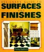 9780823013111: Designer's Guide to Surfaces and Finishes