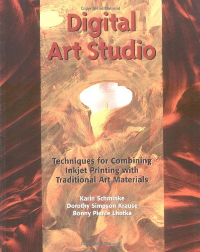 9780823013425: Digital Art Studio: Techniques for Combining Inkjet Printing with Traditional Art Materials