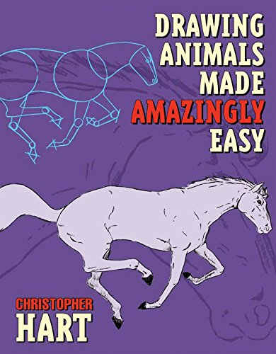 Drawing Animals Made Amazingly Easy (0823013901) by Christopher Hart