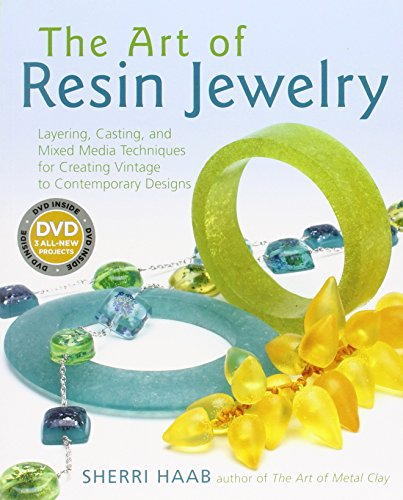 9780823015023: The Art of Resin Jewelry (Dvd Edition): Layering, Casting, and Mixed Media Techniques for Creating Vintage to Contemporary Designs