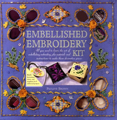 Embellished Embroidery Kit (0823015955) by Pauline Brown