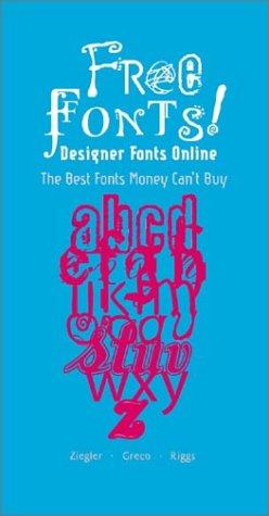 9780823019250: Freefonts!: Designer Fonts Online