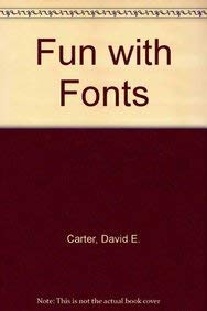 9780823019410: Fun with Fonts