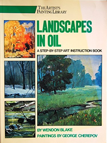 9780823025985: Landscapes in Oil (Artist's Painting Library)