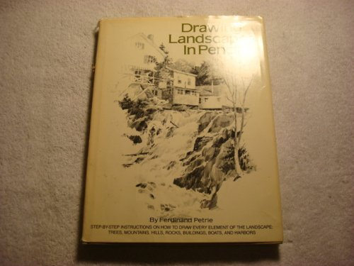 9780823026456: Drawing Landscapes in Pencil: Step-by-Step Instructions on How to Draw Every Element of the Landscape- Trees, Mountains, Hills, Rocks, Buildings, Boats and Harbors
