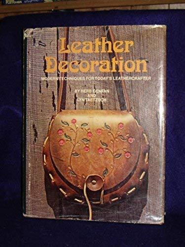 Leather Decoration: Genfan, Herb and Lyn Taetzsch