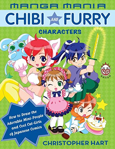 9780823029778: Manga Mania Chibi And Furry Characters: How to Draw the Adorable Mini-characters And Cool Cat-girls of Manga