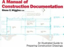 9780823030019: Manual of Construction Documentation