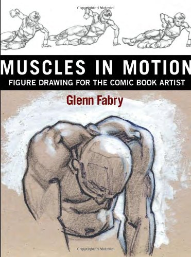 9780823031450: Muscles in Motion : Figure Drawing for the Comic Book Artist