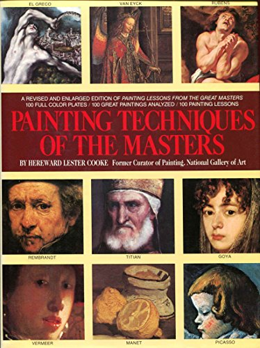 Painting Techniques of the Masters: Cooke, Hereward Lester