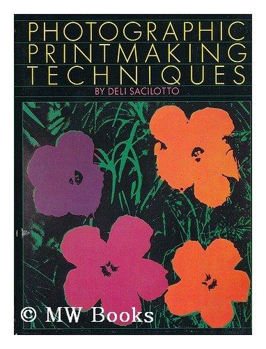 9780823040063: Photographic Printmaking Techniques