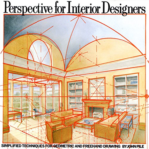 9780823040087: Perspective for Interior Designers: Simplified Techniques for Geometric and Freehand Drawing