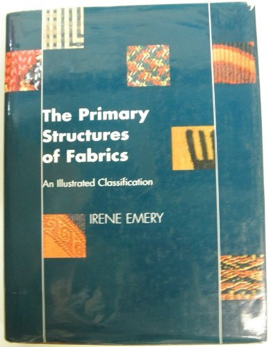 9780823043941: The Primary Structures of Fabrics: An Illustrated Classification