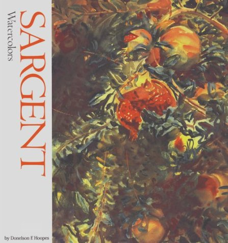 9780823046416: Sargent Watercolours (Watson-Guptill famous artists)