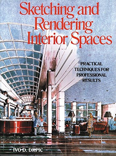 9780823048533: Sketching and Rendering Interior Spaces