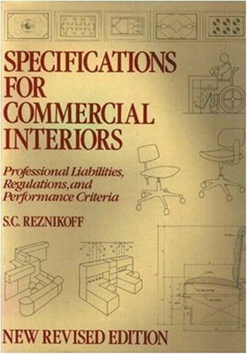 9780823048939: Specifications for Commercial Interiors