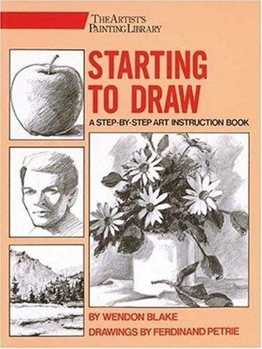 9780823049165: Starting to Draw (Artist's Painting Library)