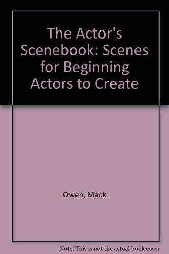 9780823049516: The Actor's Scenebook: Scenes for Beginning Actors to Create