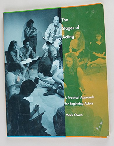9780823049523: The Stages of Acting: A Practical Approach for Beginning Actors