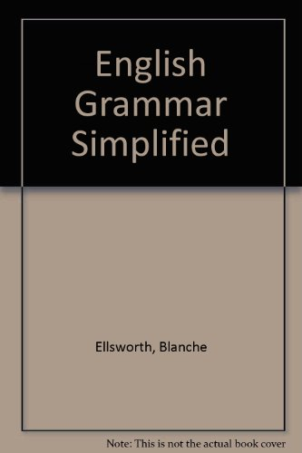 9780823049707: English Grammar Simplified