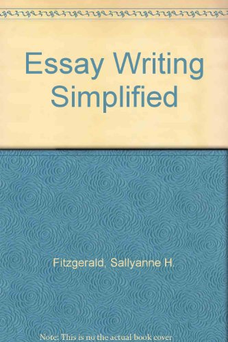 9780823049721: Essay Writing Simplified