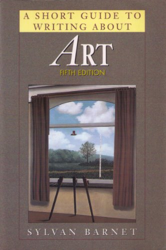 9780823049806: Short Guide to Writing about Art