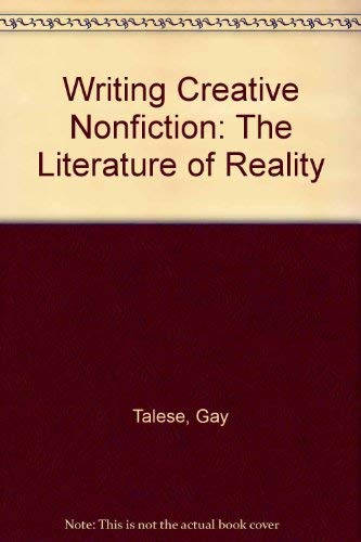 9780823050130: Writing Creative Nonfiction: The Literature of Reality