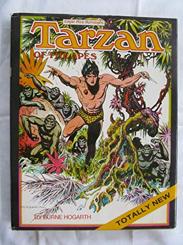 9780823050604: Tarzan of the apes. Original text by Edgar Rice Burroughs adapted by Robert M. Hodes. Introduction by Maurice Horn