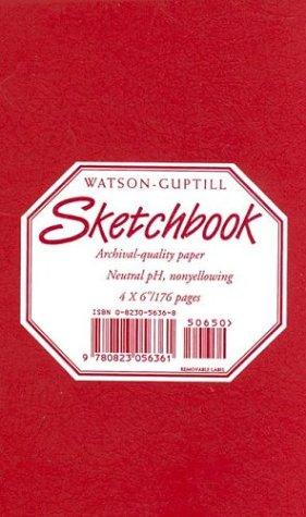 9780823056361: Sketchbook (Carmine Red, 4x6