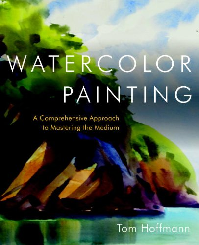 Watercolor Painting. A Step-By-Step Art Instruction Book.