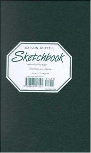 9780823057023: Sketchbook-Hunter Green Spiral Bound-5x8