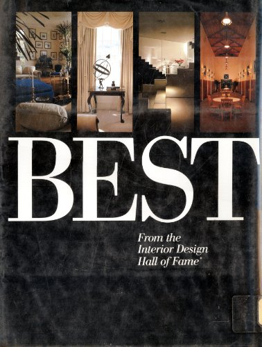 9780823062485: Best from the Interior Design Magazine Hall of Fame