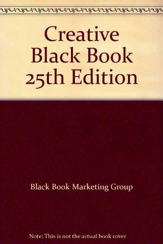 9780823064229: Creative Black Book 25th Edition