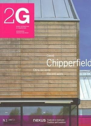 9780823065875: David Chipperfield: Recent Work (2G: International Architecture Review Series)