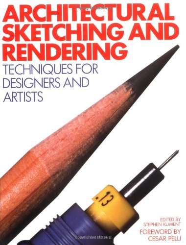 9780823070534: Architectural Sketching and Rendering: Techniques for Designers and Artists