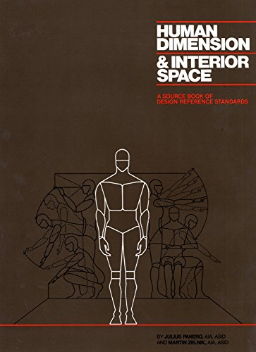9780823072712: Human Dimension and Interior Space: A Source Book of Design Reference Standards