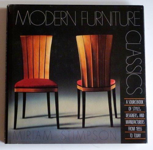 9780823073764: Modern Furniture Classics