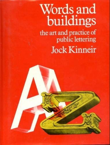 9780823074877: Words and Buildings: The Art and Practice of Public Lettering