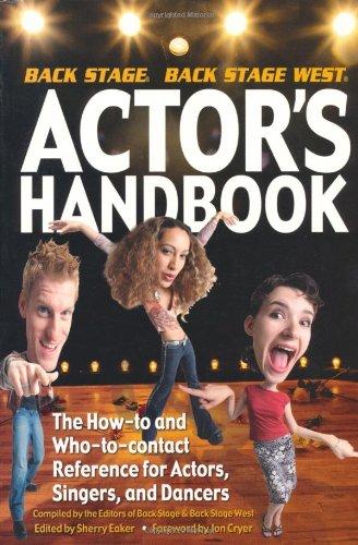The Backstage Actor's Handbook: Sherry Eaker