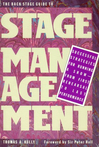 9780823076819: The Back Stage Guide to Stage Management