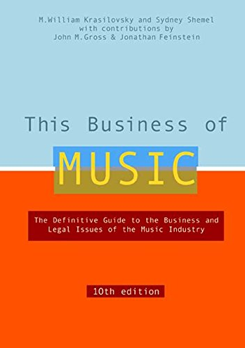 9780823077236: This Business of Music: The Definitive Guide to the Music Industry