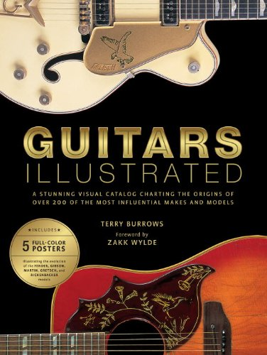 9780823082698: Guitars Illustrated: A Stunning Visual Catalog Charting the Origins of Over 200 of the Most Influential Makes and Models [With Poster]