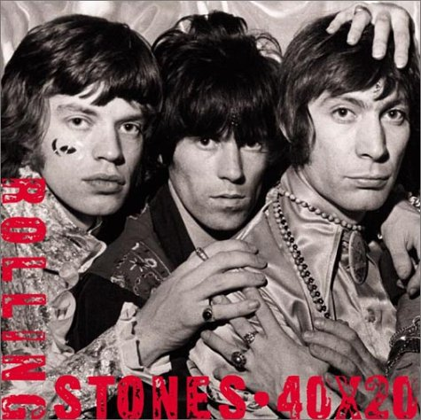 ROLLING STONES 40 X 20: MURRAY, Chris (editor)