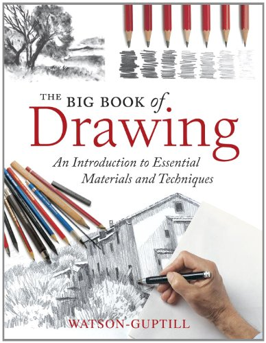 9780823085675: The Big Book of Drawing: An Introduction to Essential Materials and Techniques