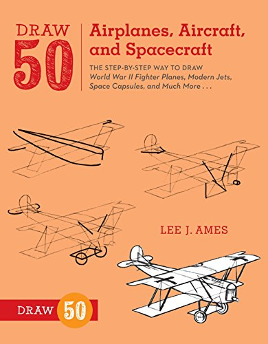 9780823085705: Draw 50 Airplanes, Aircraft, and Spacecraft