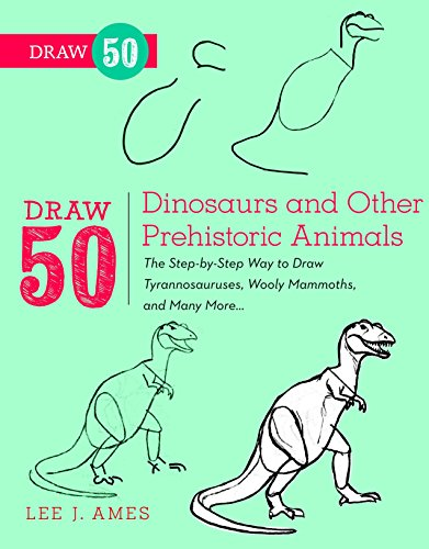 Draw 50 Dinosaurs and Other Prehistoric Animals: The Step-by-Step Way to Draw Tyrannosauruses, Wooll