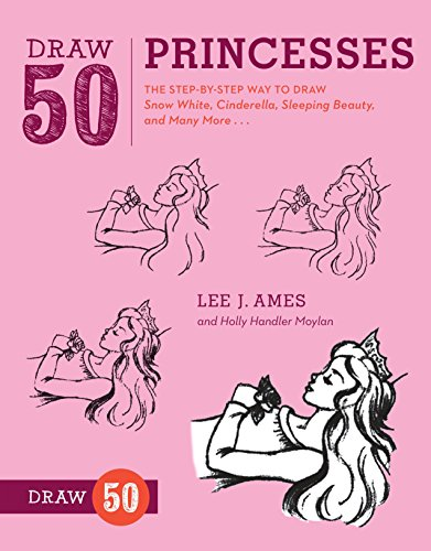 9780823085859: Draw 50 Princesses: The Step-by-Step Way to Draw Snow White, Cinderella, Sleeping Beauty, and Many More . . .