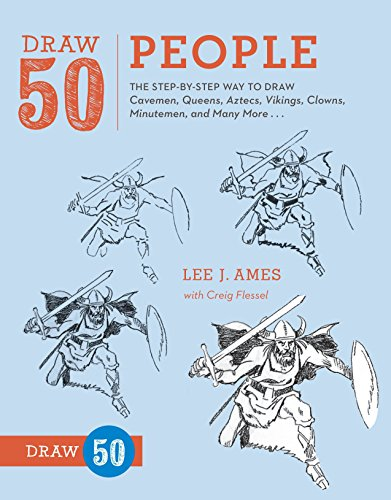 9780823085965: Draw 50 People: The Step-by-Step Way to Draw Cavemen, Queens, Aztecs, Vikings, Clowns, Minutemen, and Many More...