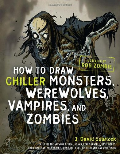 9780823095322: How to Draw Chiller Monsters, Werewolves, Vampires, and Zombies